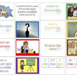 Scientific method 3 part cards (4-6)